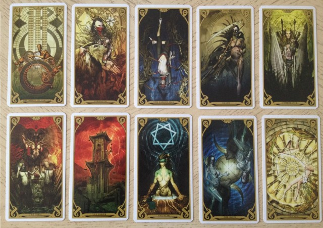 Night Sun Tarot 04 Majors 2