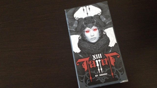 XIII Tarot - 01 Box Cover