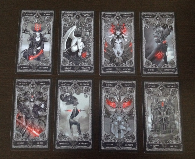XIII Tarot - 03 Majors 9-16