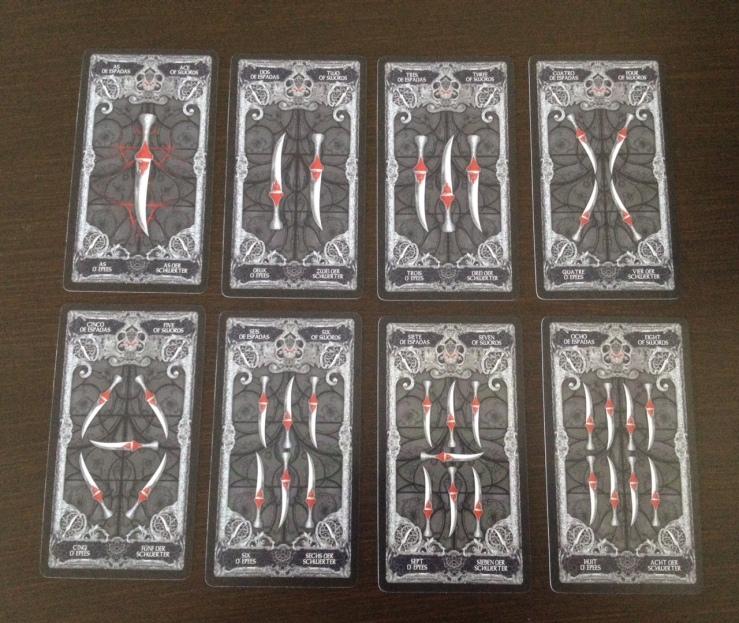 XIII Tarot - 04 Swords