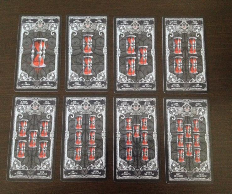 XIII Tarot - 06 Cups (Hourglass)