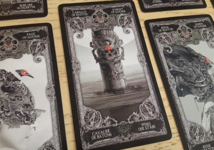XIII Tarot - Cards 2 Closeup 3