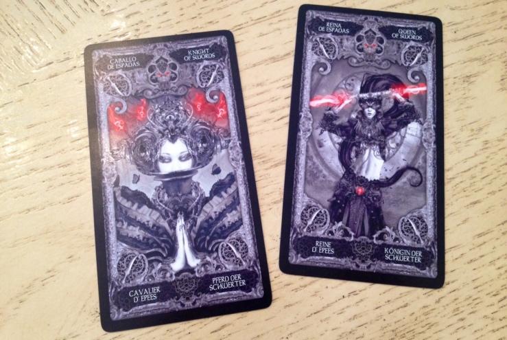 XIII Tarot - Queen of Swords