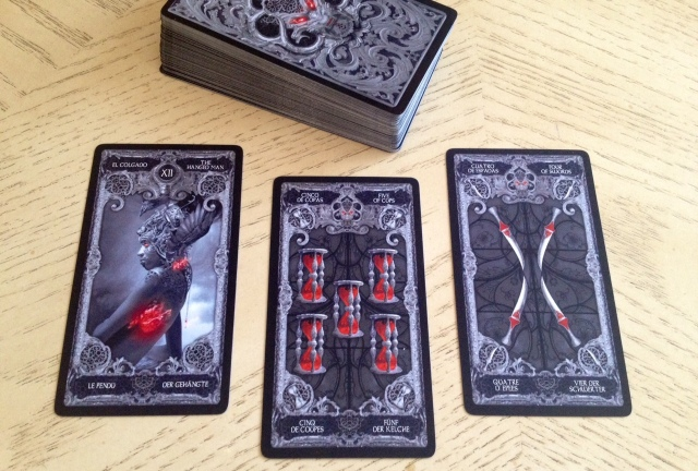 XIII Tarot - Three Card Reading Sample