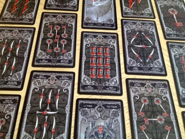 XIII Tarot - Unillustrated Pips