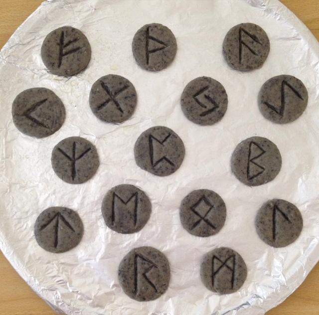 Rune Cookies 10 Rune Cookies Raw
