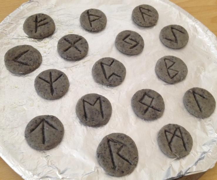 Rune Cookies 11 Rune Cookies Raw