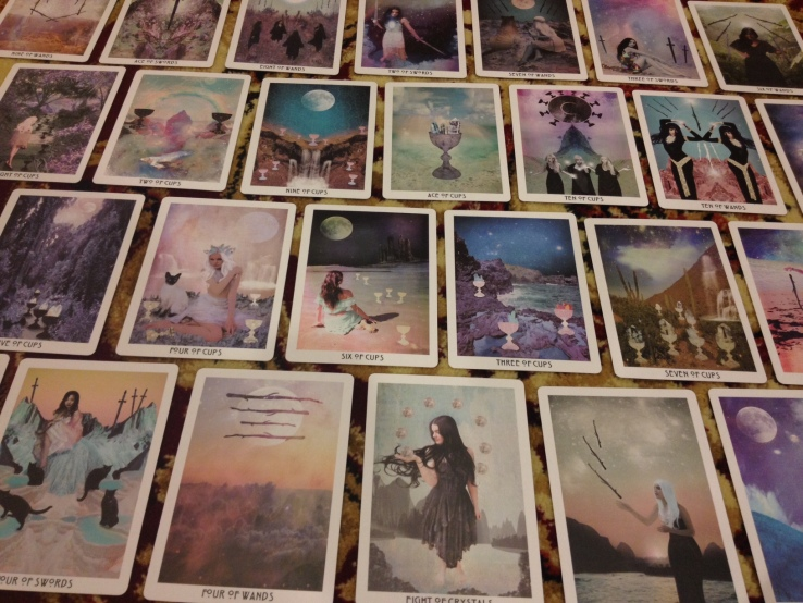 Starchild Tarot -All Cards Splayed
