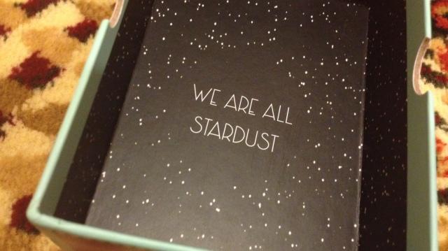 Starchild Tarot - Box Interior Quote