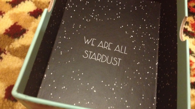 Starchild Tarot - Box Interior Quote