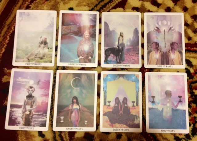 Starchild Tarot Minors - Court Cards, Wands and Cups