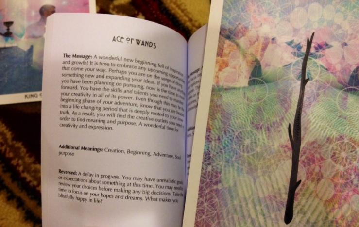 Starchild Tarot - LWB Ace of Wands