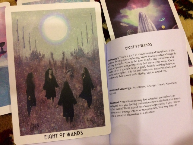 Starchild Tarot - LWB Eight of Wands