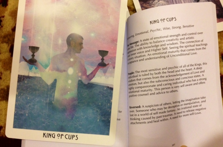 Starchild Tarot - LWB King of Cups