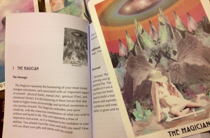 Starchild Tarot - LWB The Magician