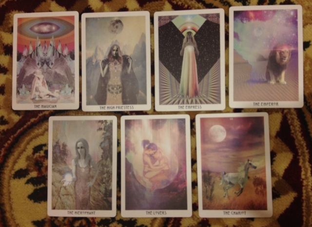 Starchild Tarot - Majors I First Septenary