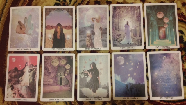 Starchild Tarot Minors - Suit of Pentacles (Pips Only)