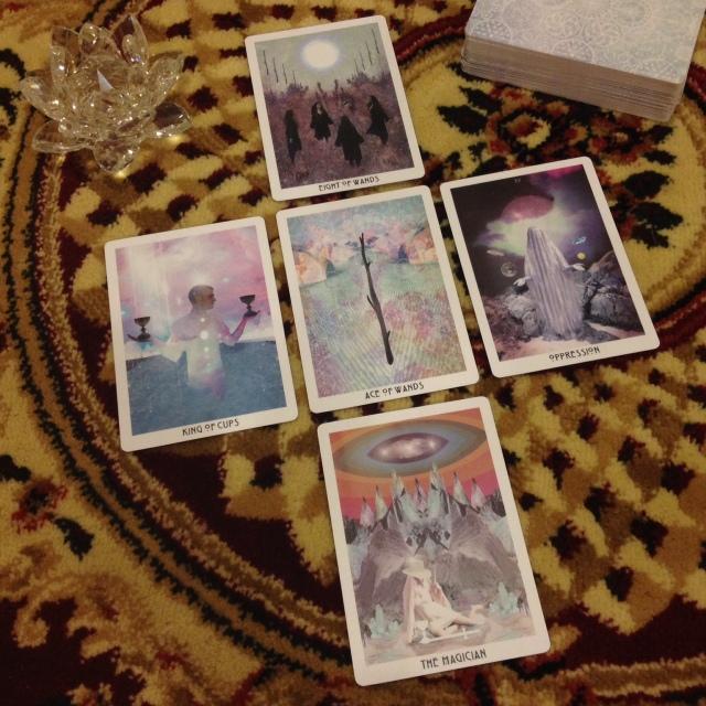 Starchild Tarot - Reading Spread