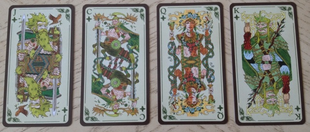 Tarot Loka 04 Minors 4 Earth Courts