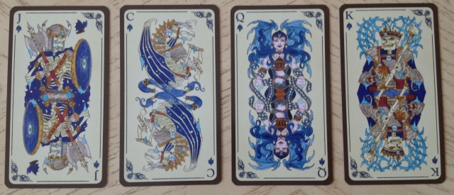 Tarot Loka 04 Minors 6 Water Courts