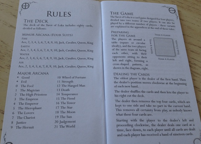 Tarot Loka 07 LWB Game Rules