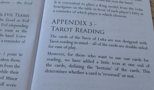 Tarot Loka 07 LWB Tarot Reading