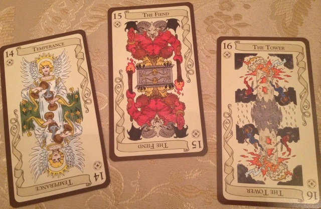 Tarot Loka 10 Card Samples