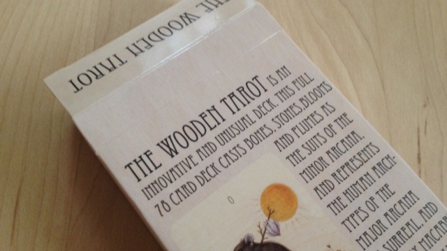 Wooden Tarot - Box Flap