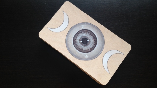 Wooden Tarot - Card Backs
