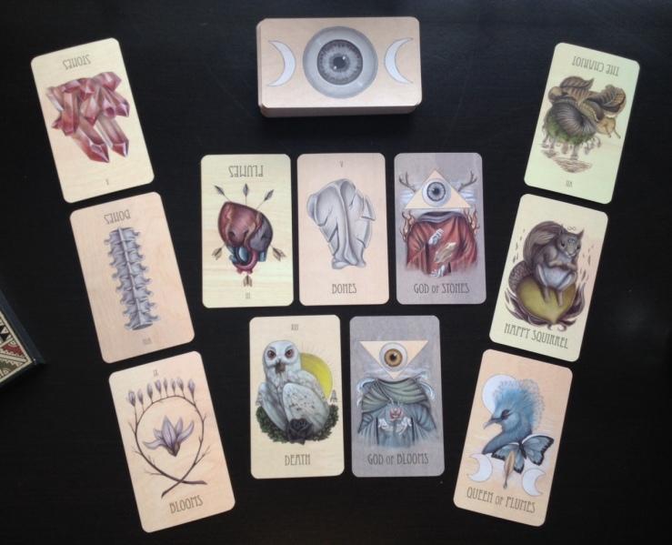 Wooden Tarot - First Reading 1