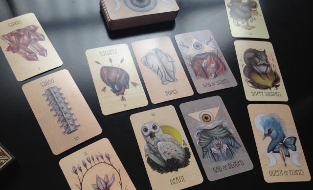 Wooden Tarot - First Reading 2