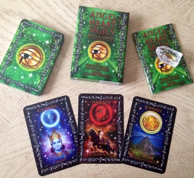Angel Heart Sigils - Box Set Sample Cards