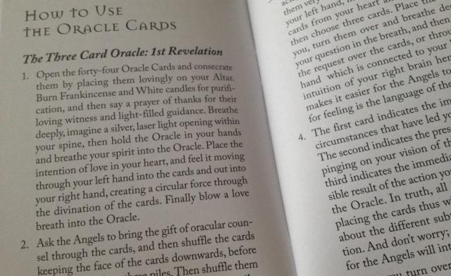Angel Heart Sigils - LWB Div Instr. 1st Revelation 3 Cards