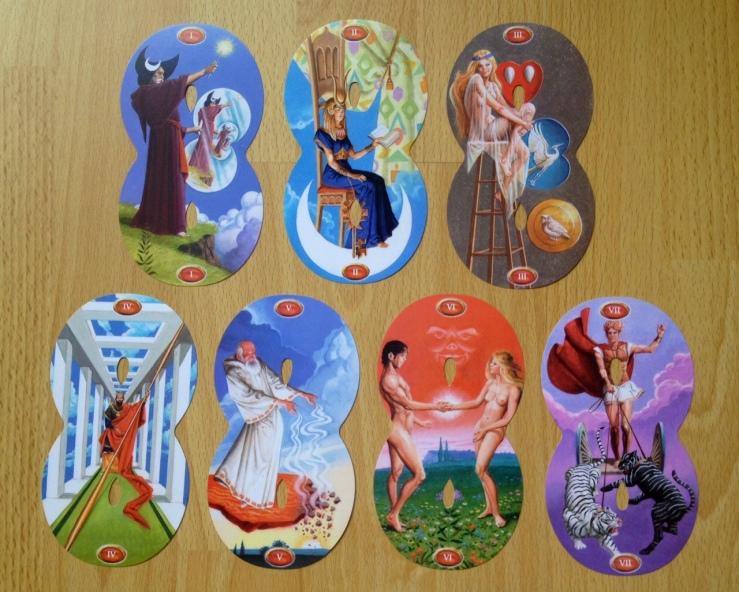 Infinity Tarot - 06 Majors - Septenary 1
