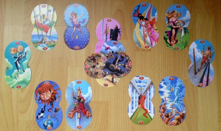 Infinity Tarot - Lemniscate Spread from HT