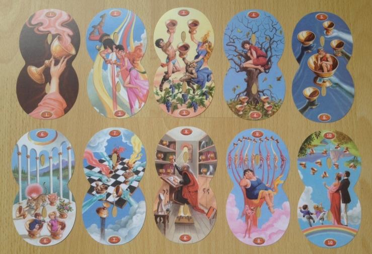 Infinity Tarot - Minors Cups Pips