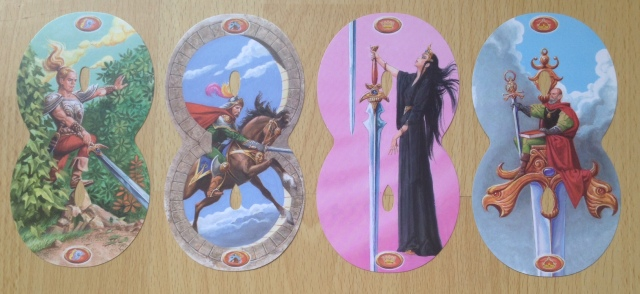 Infinity Tarot - Minors Swords Courts