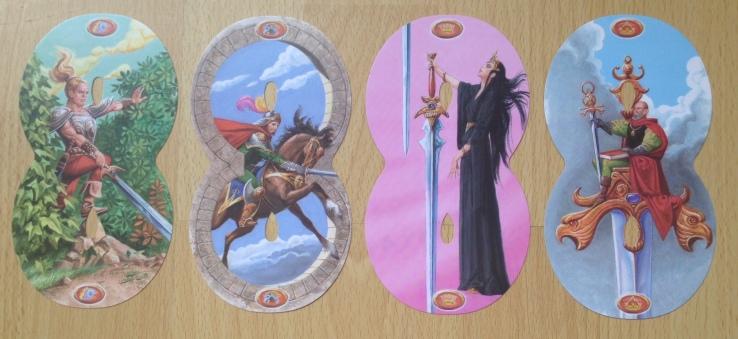 Infinity Tarot - Minors Swords Courts