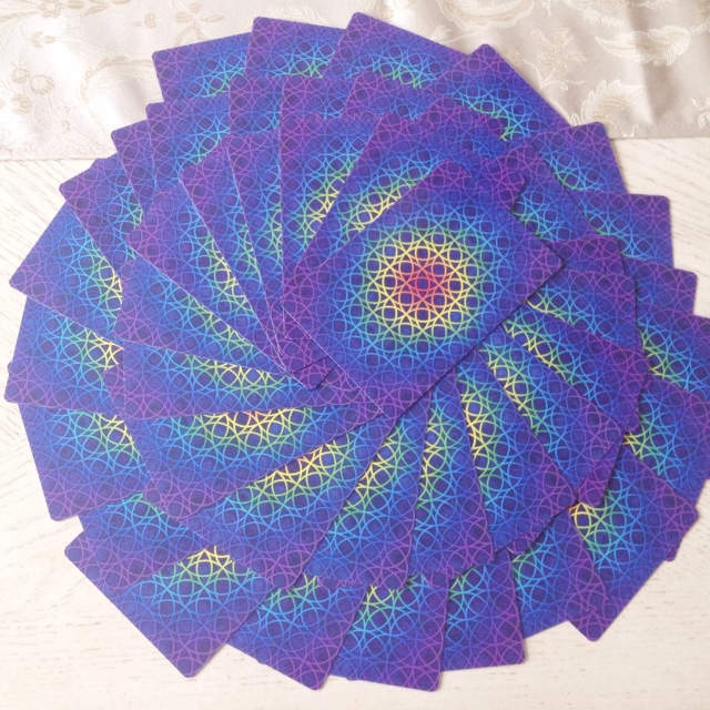 Magical Times - Five Card Spread Spiral Shuffle