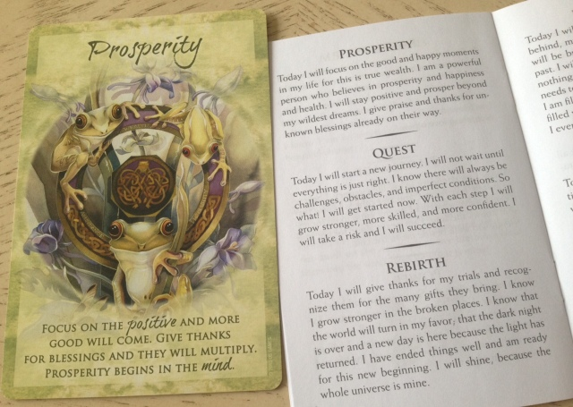Magical Times - Prosperity Card and LWB