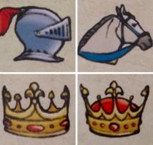 Tarot Mucha 12 Courts (Symbols)
