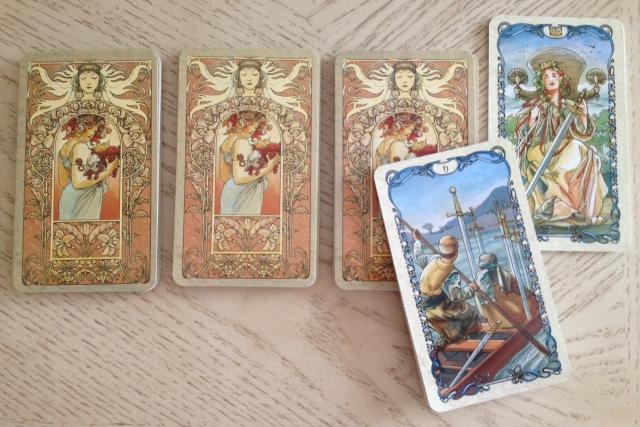 Tarot Mucha 13 IHVH