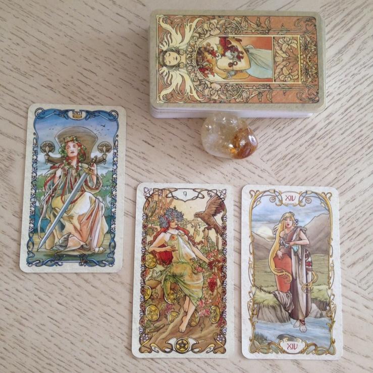 Tarot Mucha 15 Reading
