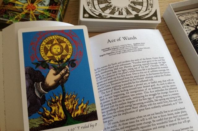 THL - Ace of Wands (Deck and Book Entry)