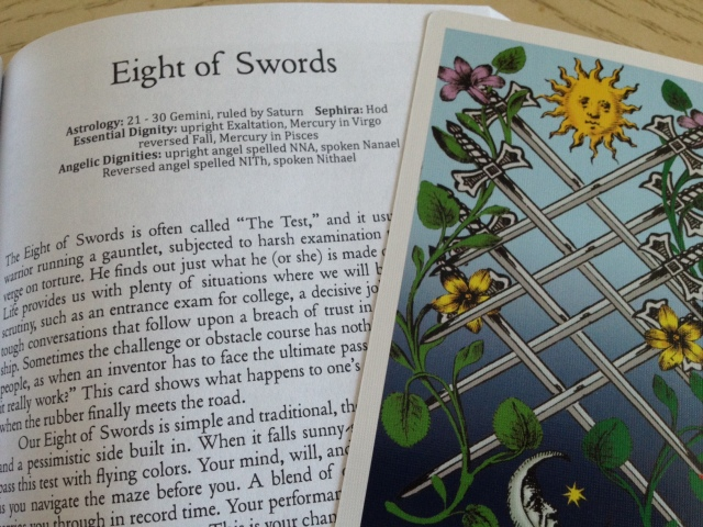 THL - EIght of Swords (Card and Book Entry)