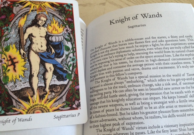 THL - Knight of Wands (Card and Book Entry)