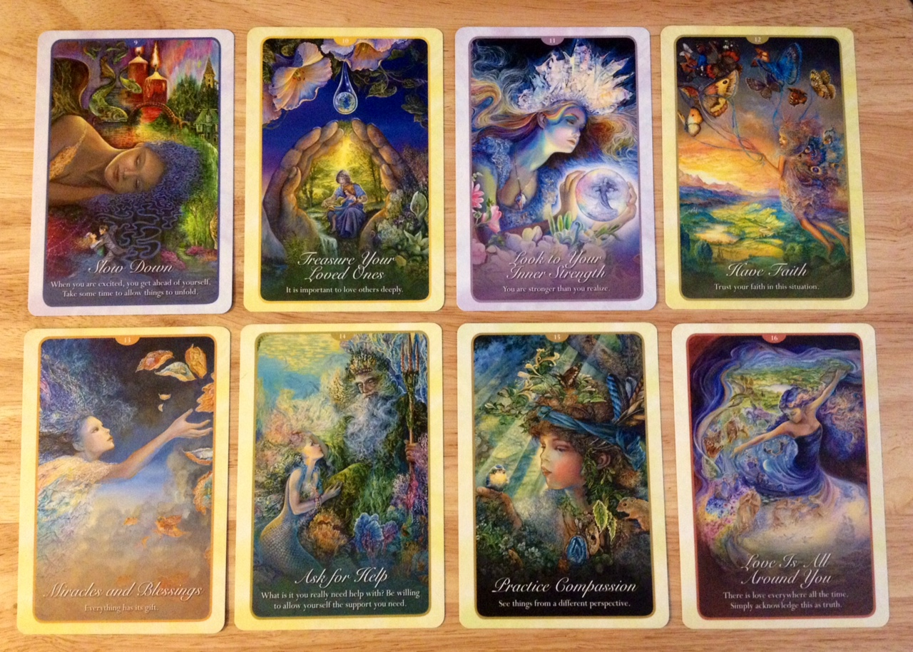 love and relationship oracle cards