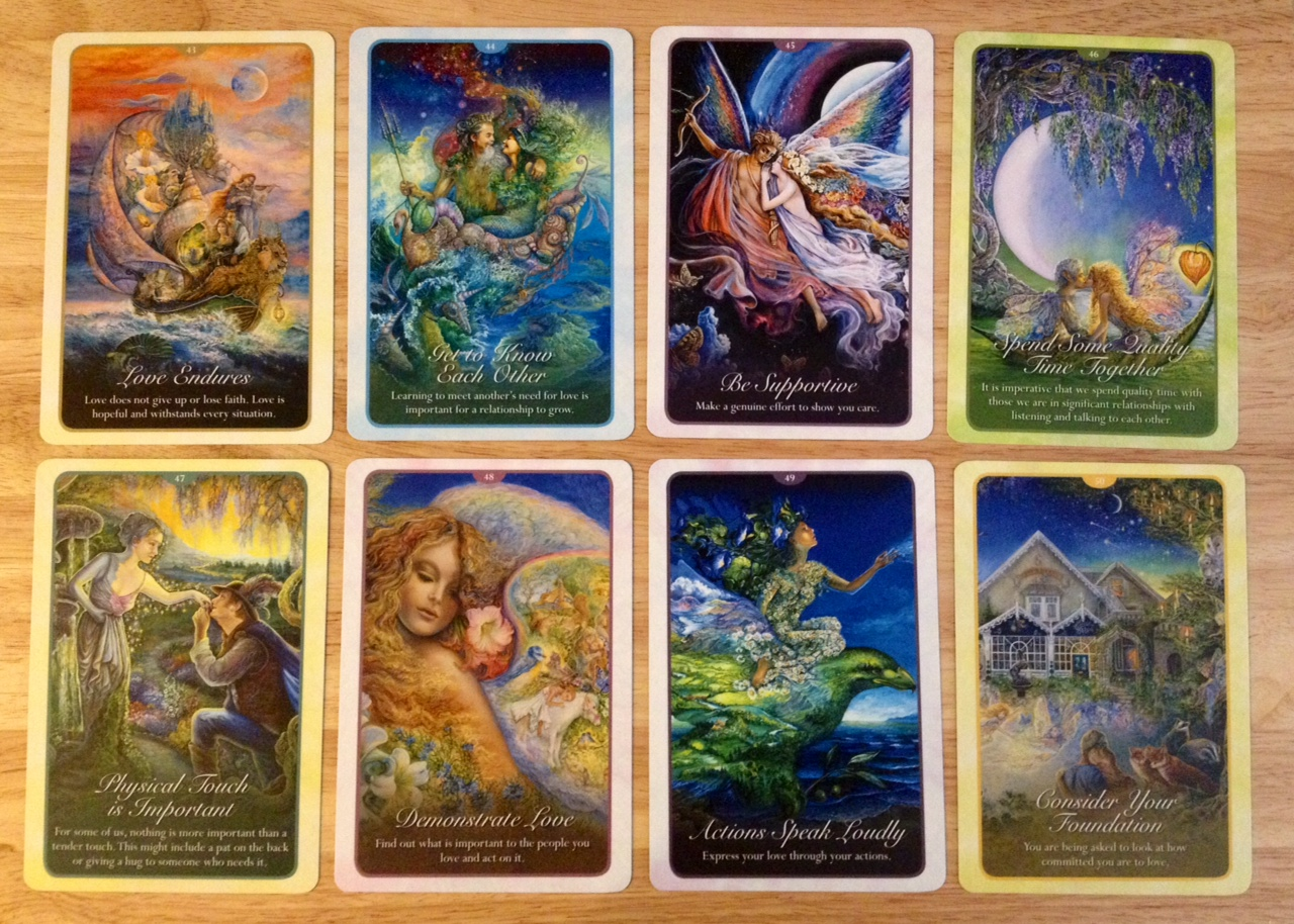 Whispers Of Love Oracle Cards Deck Review Benebell Wen