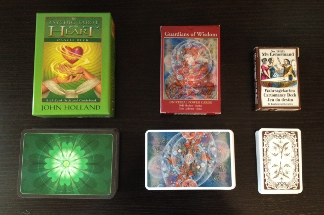 BWen 3x3x3 - Oracle Decks 1