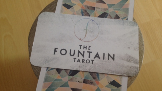 Fountain Tarot - Biz Card